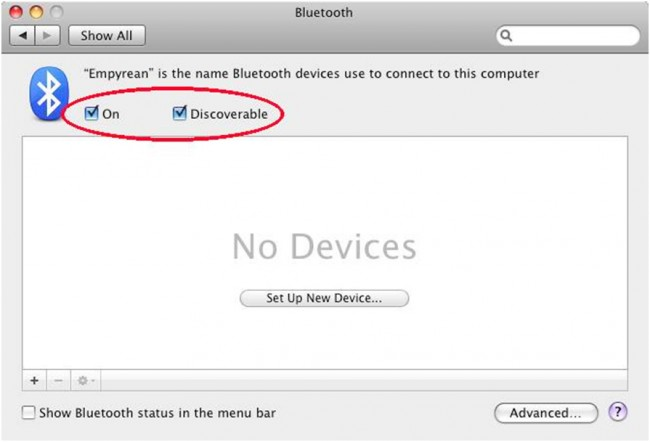 connect iPhone to Mac - Use Bluetooth step 5