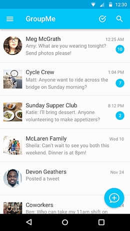 top 15 whatsapp alternatives-Groupme