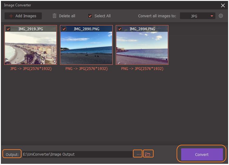 converti png in jpg o in altri formati