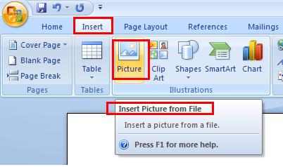 insert pdf to word