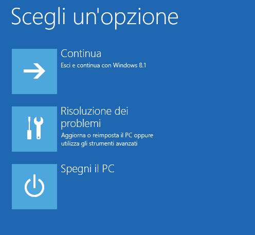 Risultati immagini per riparazione avvio windows 10