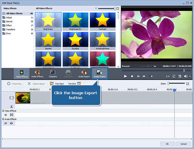 How to export image from video? Step 5
