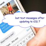 Recupero SMS da iPhone 11/X/8/7/6/5