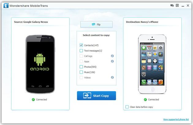 da android su iphone 5s