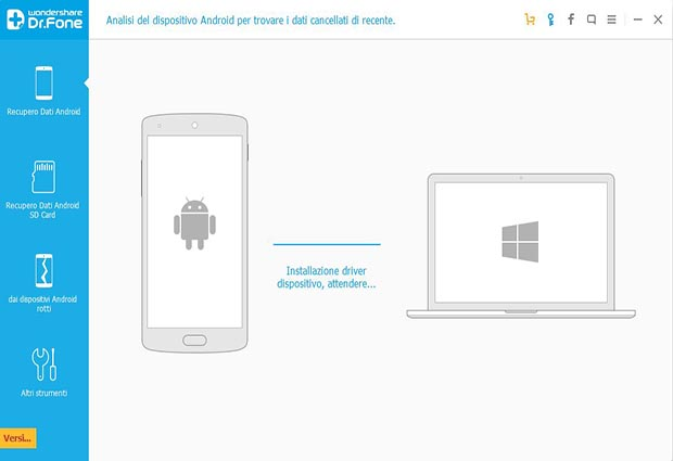 DrFone per Android