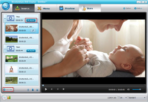 interfaccia dvd creator