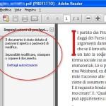 Come creare un PDF protetto