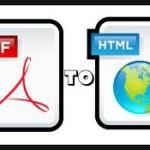 Convertire PDF in HTML