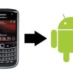 Trasferire SMS e Contatti da Blackberry ad Android