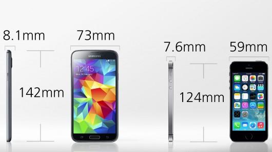 Quale scegliere tra iphone e samsung galaxy softstore for Quale smartphone scegliere