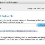 Come Togliere Password del Backup iTunes