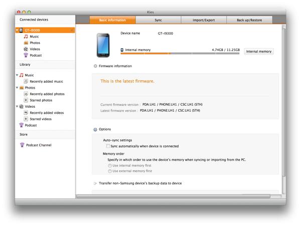 Download Kies For Mac