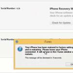 Resettare iPhone senza Apple ID