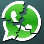 Problema Whatsapp che si Blocca o va in Crash