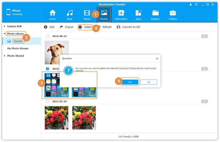 Rimuovere foto da photo stream o rullino iphone e ipad - La finestra di fronte streaming ...