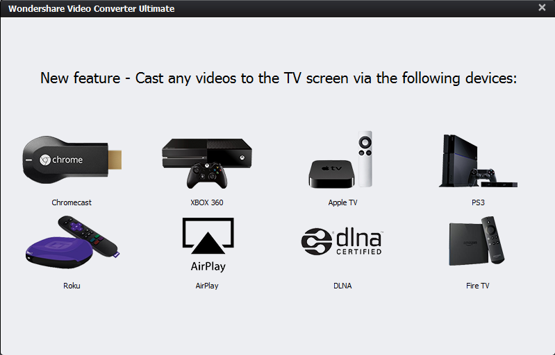Trasmettere video da pc a xbox appletv ps3 roku chromecast softstore sito ufficiale - La finestra di fronte streaming ...