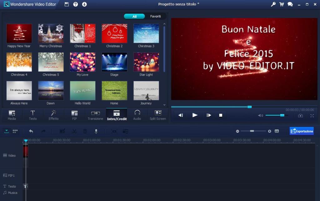 Creare Video Auguri Di Buon Natale Con Foto E Musica