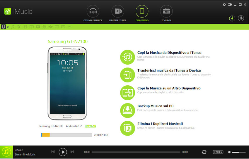 musica da spotify sul cellulare