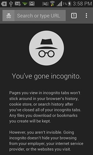 Navigazione anonima su android softstore sito ufficiale - Nuova finestra di navigazione in incognito ...