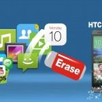 Come Cancellare Definitivamente Dati su HTC