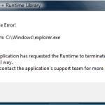 Come Correggere Errore Runtime?