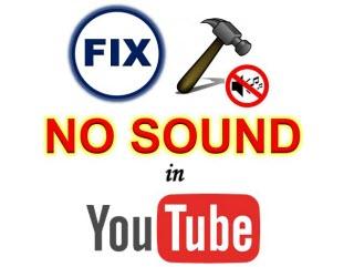 no audio su youtube