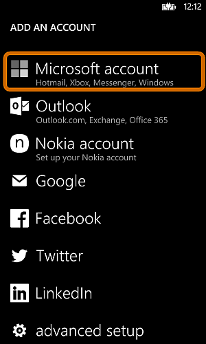 How to transfer contacts from lumia to android