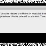 Come si Mette l'iPhone in Modalità DFU e Recovery Mode