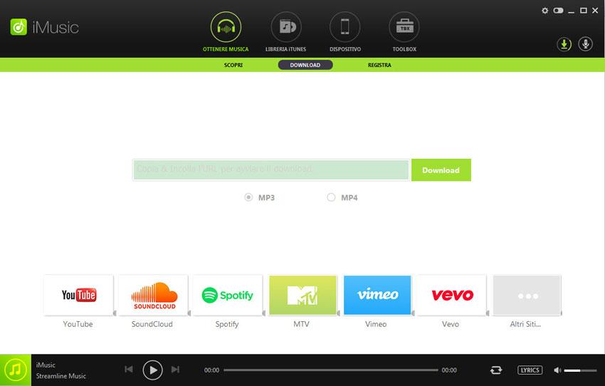 Scaricare mp3 da spotify softstore sito ufficiale for Software di progettazione di mobili download gratuito 3d