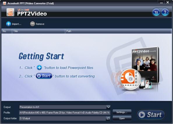 PPT 2 Video Converter