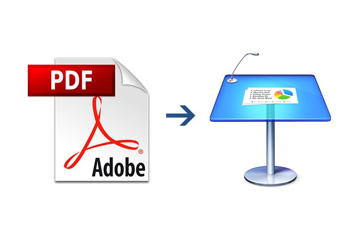 Convertire PDF in Keynote su Mac | SoftStore – Sito Ufficiale