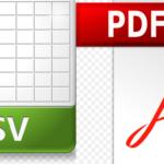Convertire PDF in CSV