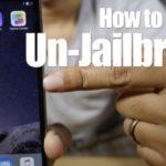 Rimuovere Jailbreak Senza iTunes e Senza Perdere Dati