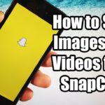 Salvare Foto e Video SnapChat su iPhone e Android