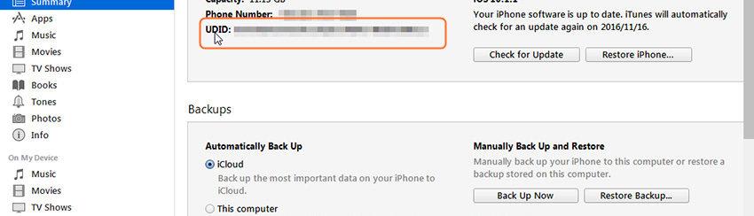 Come Trovare UDID iPhone/iPad con e Senza iTunes | SoftStore – Sito