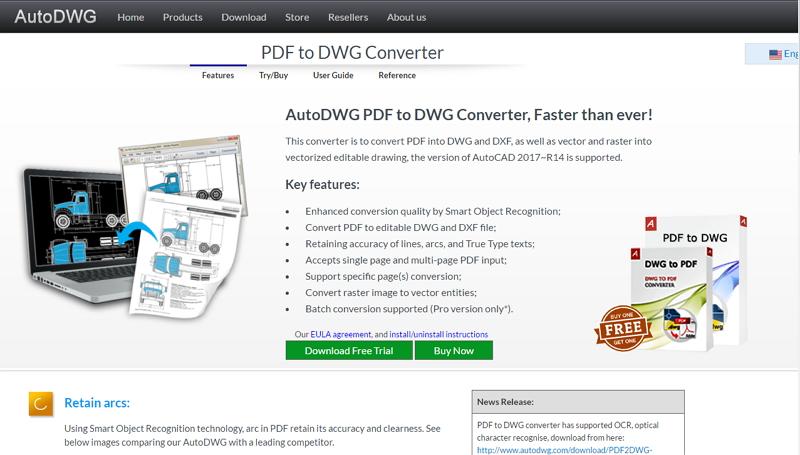 pdf to dwg converter free