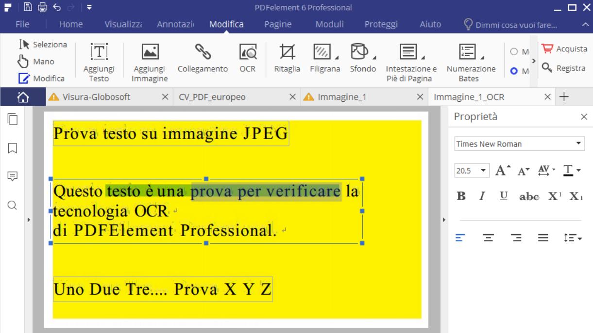 Estrarre testo da immagini o pdf scannerizzato softstore - Gemelli diversi prima o poi testo ...