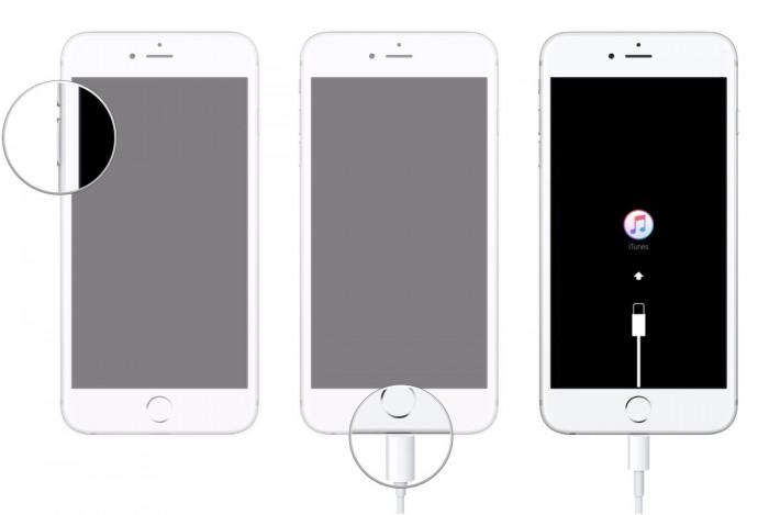 set iphone in dfu mode