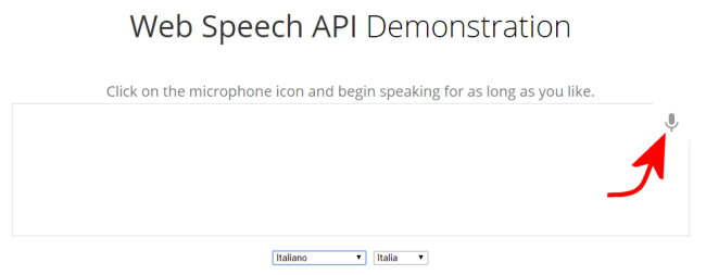 Convertire audio in testo senza installare nulla