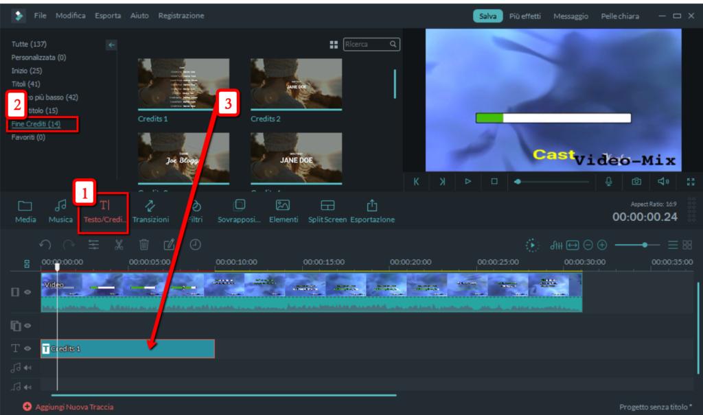 Video filmati