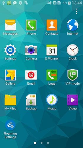 screen sharing android