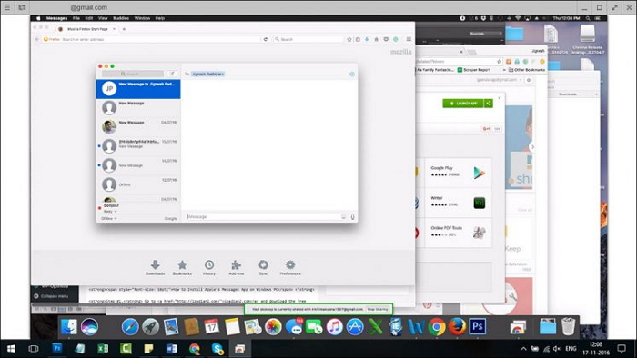 use imessages on windows via google remote.jpg