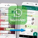 Trasferire Chat Whatsapp tra Samsung e iPhone con Whatsapp Transfer