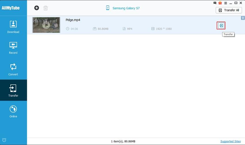Transfer Videos to Mobile Device - Transfer Videos