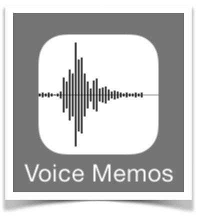 Risultati immagini per icon memo vocali iphone