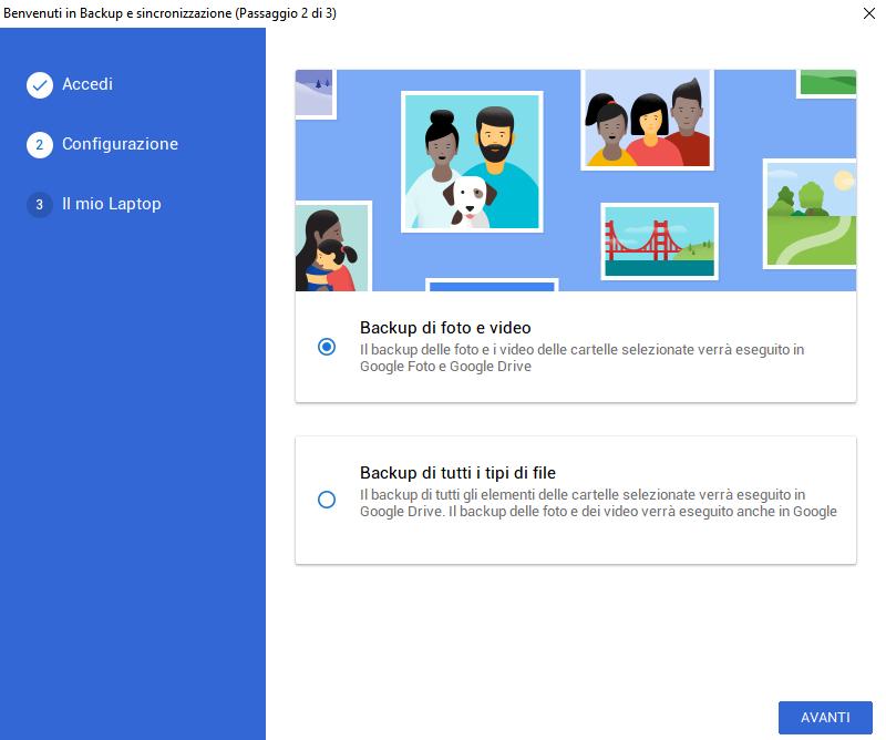 come scaricare foto da google drive
