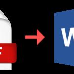 Convertire PDF con Immagini in Word