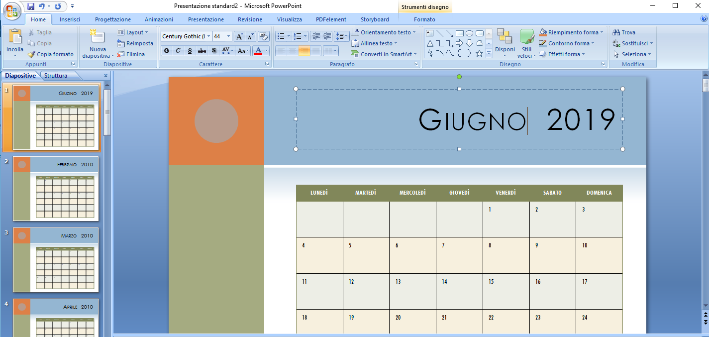 Condividere Calendario Outlook Senza Exchange.Come Inserire Calendario In Powerpoint Softstore Sito