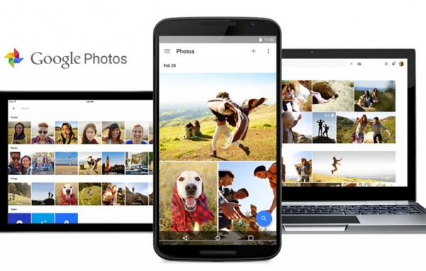 transfer photos from mac to android using google photos