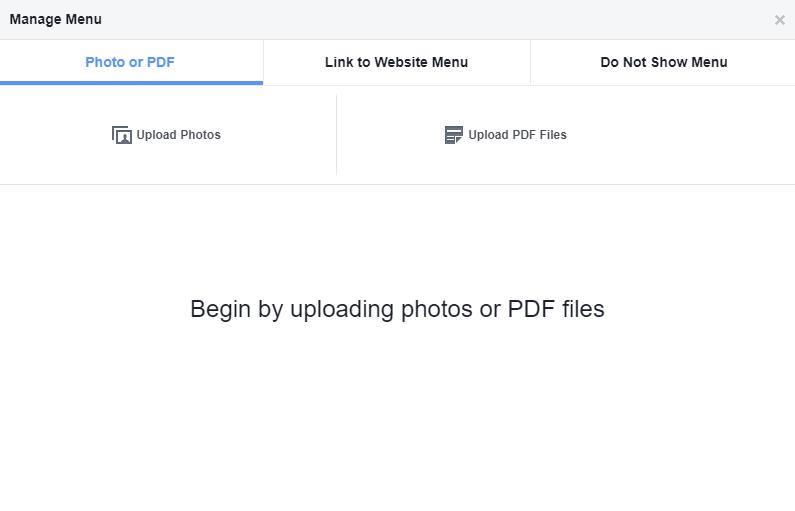 DeftPDF upload PDF to business Facebook page